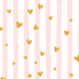 Ткань «Сердечки»
