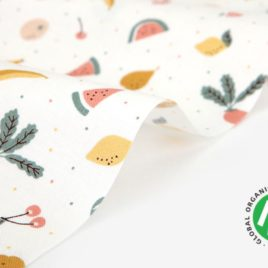 Органический хлопок Dailylike «Organic cotton:fresh fruits»