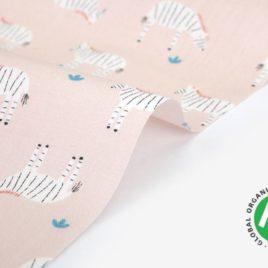 Органический хлопок Dailylike «Organic cotton:zebra»