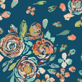 Ткань AGF «Swifting Flora Swell»