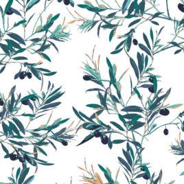 Ткань AGF «Olive Foliage»